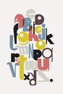 Alphabet by Laure Girardin Vissian