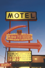 Motel Route - Haze by Alan Copson