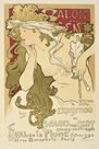 Salon des Cent 20th Exhibition, 1896 by Alphonse Mucha