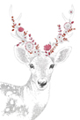 Woodland Wonders - Deer by Kristine Hegre