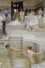 A Favourite Custom 1909 by Sir Lawrence Alma-Tadema