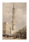 Minaret Of The Principal Mosque by David Roberts