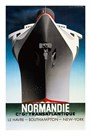 Normandie 1935 by AM. Cassandre