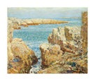 Coast Scene, Isles of Shoals, 1901 by Frederick Childe Hassam
