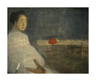 Girl with Orange by Helene Schjerfbeck