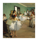 The Dance Class, 1874 by Edgar Degas
