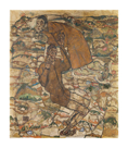 Transfiguration (The Blind II) by Egon Schiele