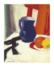 Blue And Orange by Francis Campbell Cadell