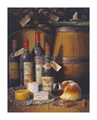 Wine And Cheese by Raymond Campbell
