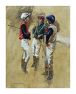 Three Jockeys by Henry Koehler
