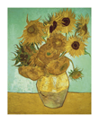 Still Life, Vase With Twelve Sunflowers by Vincent Van Gogh