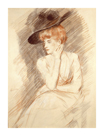 The Black Hat II by Paul Helleu
