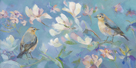 Birds in Magnolia by Sarah Simpson