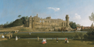 Warwick Castle by Antonio Canaletto