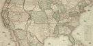 Map of North America, 1853 - Detail by Jacob Monk