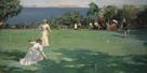 The Croquet Match by Sir John Lavery