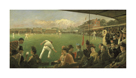 Imaginary Cricket Match, England versus Australia, 1886 by Sir Robert Ponsonby Staples