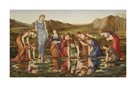 The Mirror of Venus by Sir Edward Burne-Jones