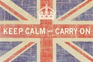 Keep Calm Flag by Ben James