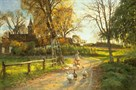 The Goose Girl by Peder Mork Monsted