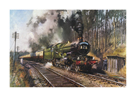 Cathedrals Express by Terence Cuneo