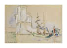 La Rochelle, 1926 by Paul Signac