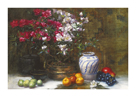 Still Life with Azaleas by Frank Janca