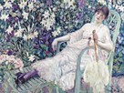 The Garden Chair, 1912 by Frederick Carl Frieseke