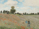 The Poppyfield, Near Argenteuil by Claude Monet