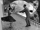 Rock 'n' Roll Dancers on Quays of Paris, River Seine, 1950s by Paul Almasy