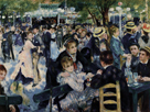 Dance at Le Moulin de la Galette, 1876 by Pierre Auguste Renoir