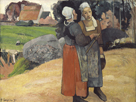 Breton Peasant Women, 1894 by Paul Gauguin