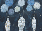 Hydrangeas and Chinese Vases by Charlotte Hardy