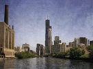 Chicago River View by Pete Kelly