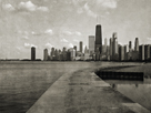 Chicago Beach Walk by Pete Kelly