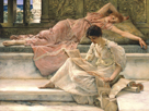 The Favourite Poet, 1888 by Sir Lawrence Alma-Tadema