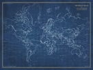Navigator - World Map by The Vintage Collection