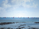 'Round the Island Race', off Bembridge by Ben Wood