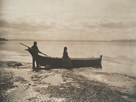 Evening On the Sound, 1899 by Edward Sheriff Curtis