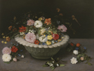 Flowers in a Porcelain Bowl by Pieter Bruegel the Elder