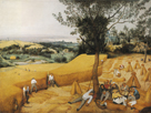 The Harvesters by Pieter Bruegel the Elder