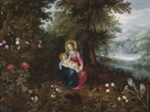 The Rest on the Flight to Egypt II by Jan Brueghel the Younger