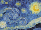 The Starry Night, June 1889 - Focus by Vincent Van Gogh