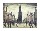 The Market Place (Berwick upon Tweed) by L.S. Lowry