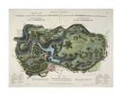 A New and Accurate Plan of Blenheim Palace by N Vergnaud