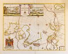 A Map of the North Pole and the Parts Adjoining, 1680 by Moses Pitt