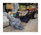 Portraits in the Countryside by Gustave Caillebotte