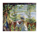 Near the Lake, 1879/80 by Pierre Auguste Renoir