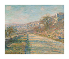 Road of La Roche-Guyon, 1880 by Claude Monet