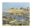Little Boats, St Jean by Gabriel Deschamps